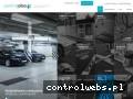 Screenshot strony www.parkingplus.pl