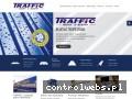 Screenshot strony www.traffic-blachy.pl