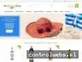 Screenshot strony www.alezielonysklep.pl
