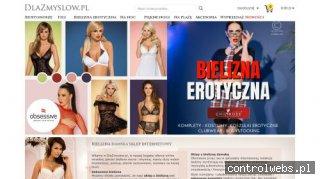 Dlazmyslow.pl bielizna damska sklep internetowy