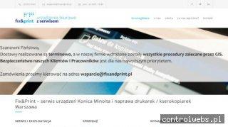 Serwis kserokopiarek Fixandprint Warszawa
