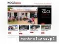 Screenshot strony www.kocz-serwis.pl