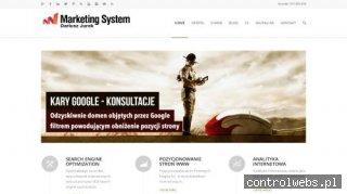 Marketing System - Pozycjonowanie stron www