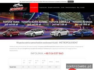 Wypożyczalnia samochodów Metropolis