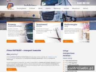 PATFRIGO Bezpieczny transport żywności