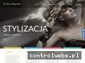 Screenshot strony www.paznokcie.bizn.pl