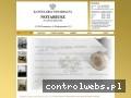 Screenshot strony notariuszsosnowiec.com.pl