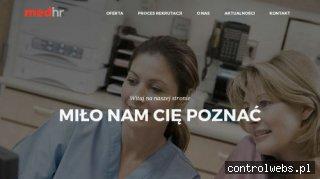 Praca dla pielęgniarek za granicą MedHR
