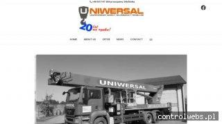 Dźwigi, podnośniki - profesjonalne usługi budowlane