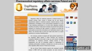 TopPharm Consulting rejestracja leków