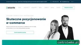 Pozycjonowanie lokalne | delante.pl