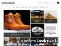 Screenshot strony sneakers.pl
