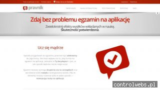 Testy na aplikacje - Pravnik