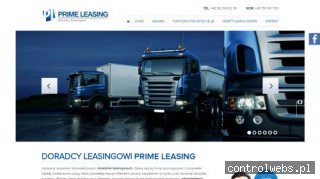 PRIME LEASING Leasing operacyjny