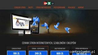 profesjonalne tworzenie stron www Warszawa - cdx.pl