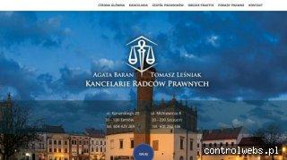 kancelaria.tarnow.pl - radca prawny w Tarnowie