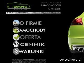 Wynajem samochodów Krispol Toruń