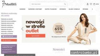 Sklep Modbis.pl sklep z eleganckimi sukienkami