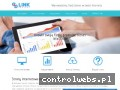Screenshot strony linkprojekt.pl