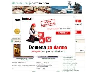 Restauracje Poznań