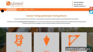 AZYMUT usługi kartograficzne Kozienice