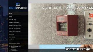 PROVISION instalacja systemów alarmowych