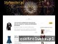 Screenshot strony stylwester.pl