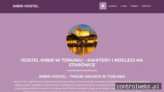 IMBIR Tanie noclegi Toruń