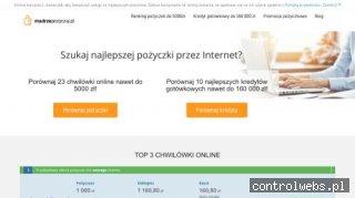Pożyczki przez Internet na madrzepozyczaj.pl