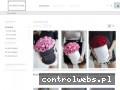 Screenshot strony flowerstore.pl