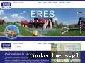 Screenshot strony www.eres-budowa-domow.pl