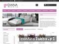 Screenshot strony www.meble-diana.pl