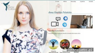 Anna Kowska - psychoterapia