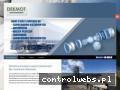 Screenshot strony www.dekmot.info