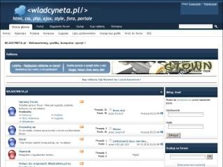 WladcyNeta.pl - forum webmastersko komputerowe