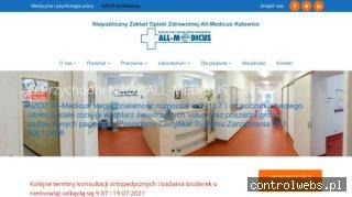 Niepubliczny Zakład Opieki Zdrowotnej All-Medicus Katowice
