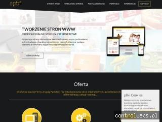 projektowanie stron www - sklepy internetowe - facebook