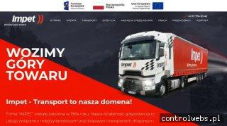 Transport i spedycja oraz magazynowanie towarów