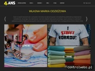 Własna marka odzieżowa - 4lans