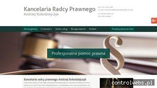 ANDRZEJ KOŁODZIEJCZYK doradztwo prawne dla firm Gdańsk