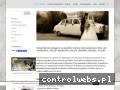 Screenshot strony www.samochod-weselny.pl