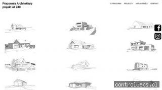 Pracownia Architektury projekt 44 240