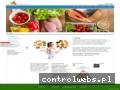 Screenshot strony e-dietetyczka.pl