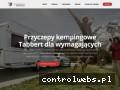 Screenshot strony tabbert.pl