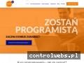 Screenshot strony akademia108.pl
