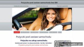 Pożyczki pod zastaw auta - zastawsamochodu.pl