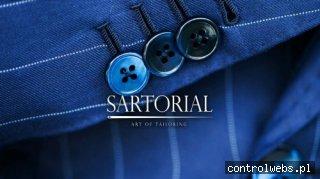 Sartorial - garnitur szyty na miarę