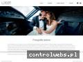 Screenshot strony www.lasonfotografia.pl