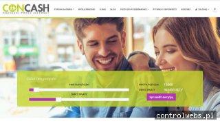Pożyczki pozabankowe przez internet - concash.pl