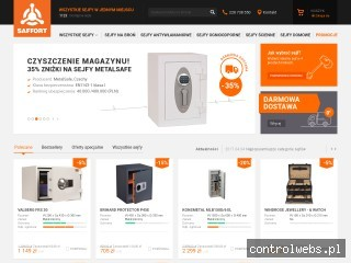 Internetowy sklep z sejfami – saffort.pl